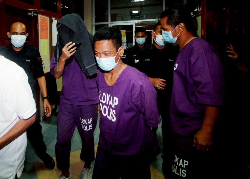 Last Sunday, a 28-year-old actor was among three men arrested for suspected drug abuse following a raid conducted on a house in Kuala Kangsar. BERNAMApix