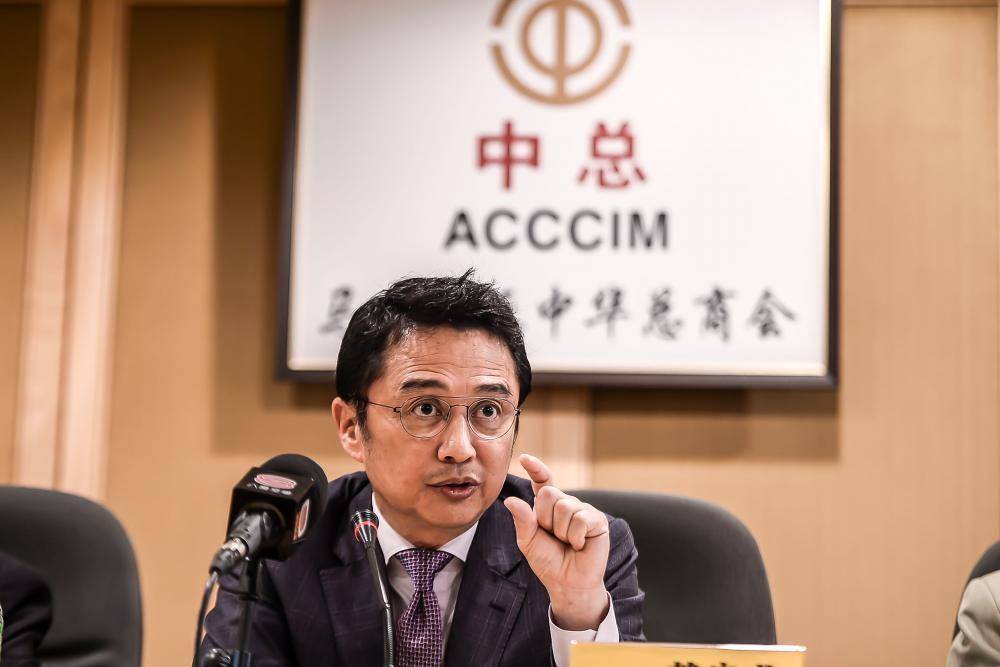 ACCCIM president Tan Sri Ter Leong Yap. Adib Rawi Yahya/theSun
