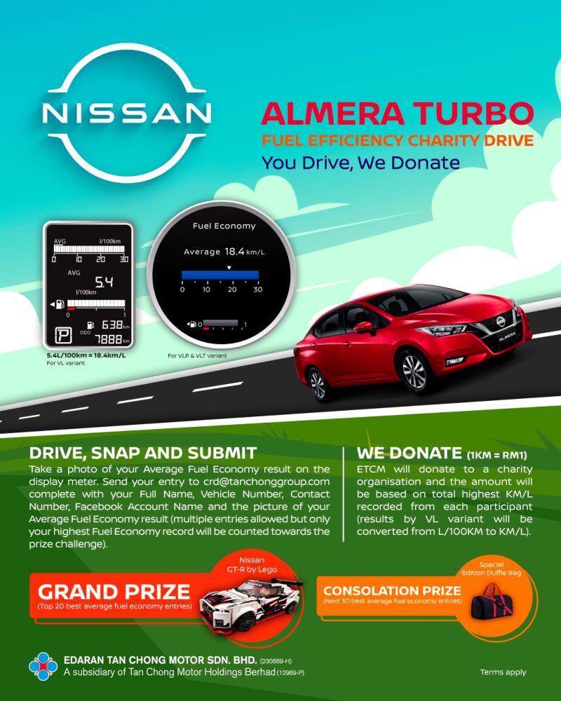 Triple excitement with Nissan Malaysia