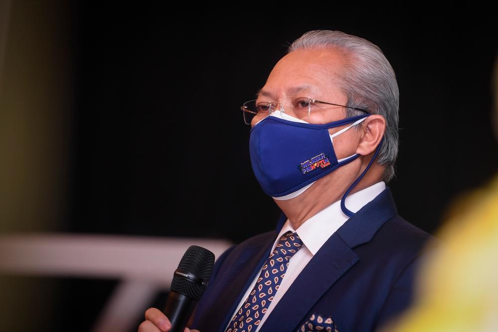 Communications and Multimedia Minister Tan Sri Annuar Musa. BERNAMApix