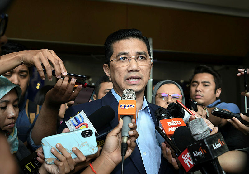 Strategy paper for aerospace industry to be developed: Azmin