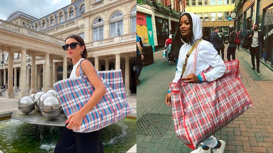 Balenciaga elevated a cheap bag once again