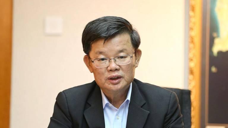 Penang CM urges residents remain vigilant despite state's green zone status