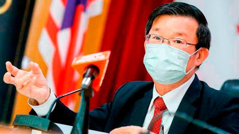 Penang CM undergoes home quarantine