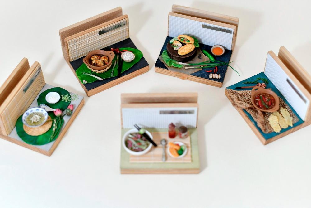 Vietnamese artist making tiny food