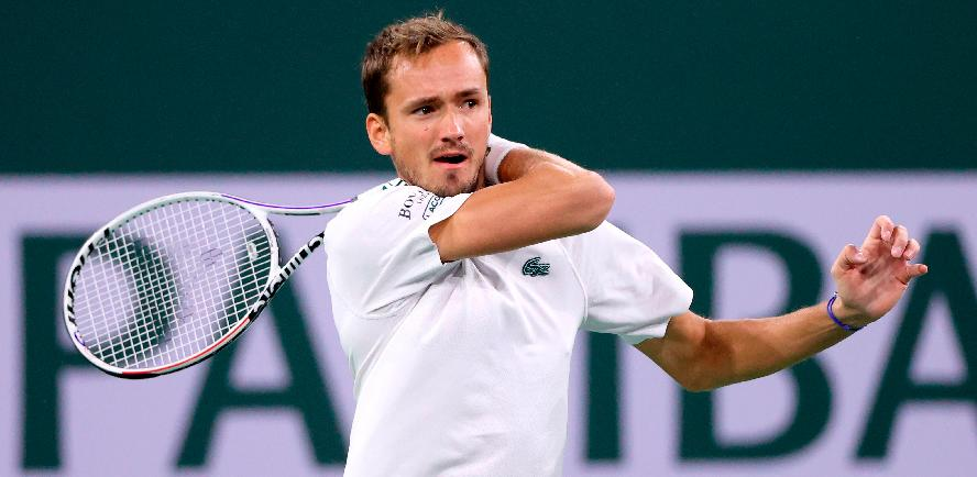 US Open champ Medvedev stunned by Dimitrov in Indian Wells