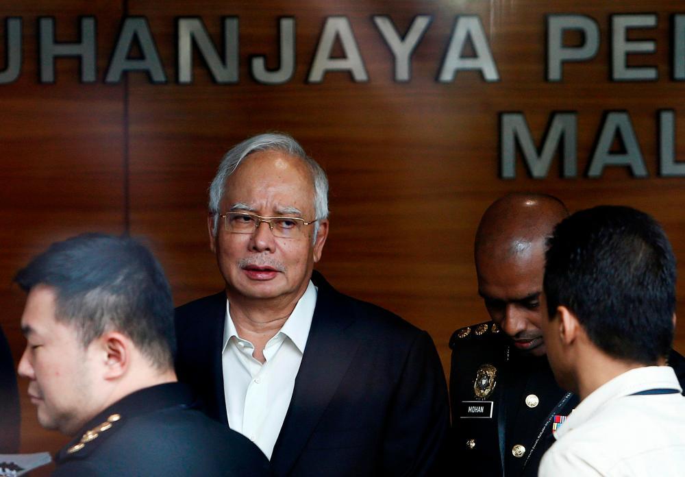 Najib's 1MDB trial to resume on April 1, if no extension of MCO