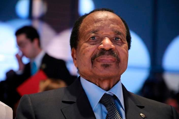 Paul Biya has ruled Cameroon for 38 years. — AFP