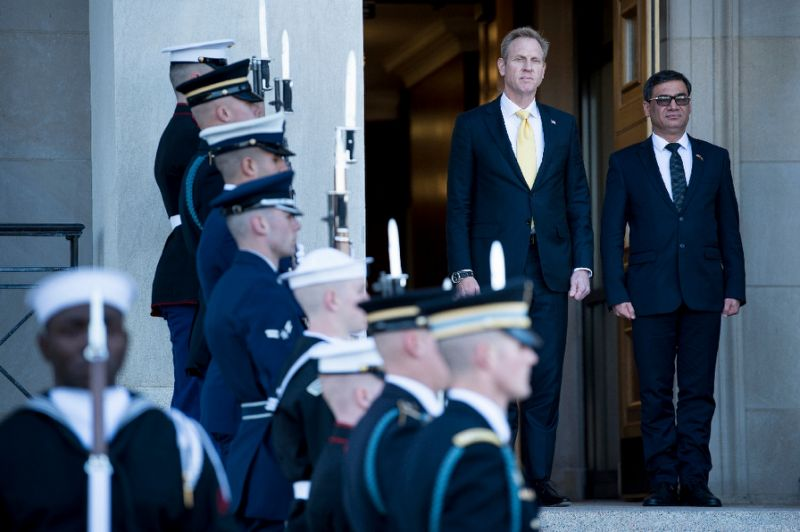 Patrick Shanahan is set to become the new Pentagon chief. — AFP
