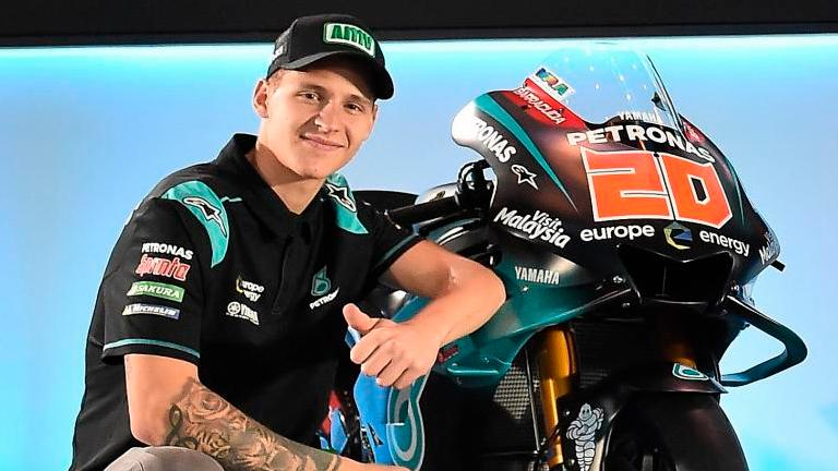 Last-gasp Quartararo takes pole for French MotoGP