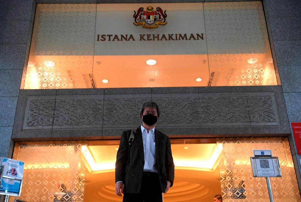 Malaysiakini Editor-in-Chief, Steven Gan - Bernama