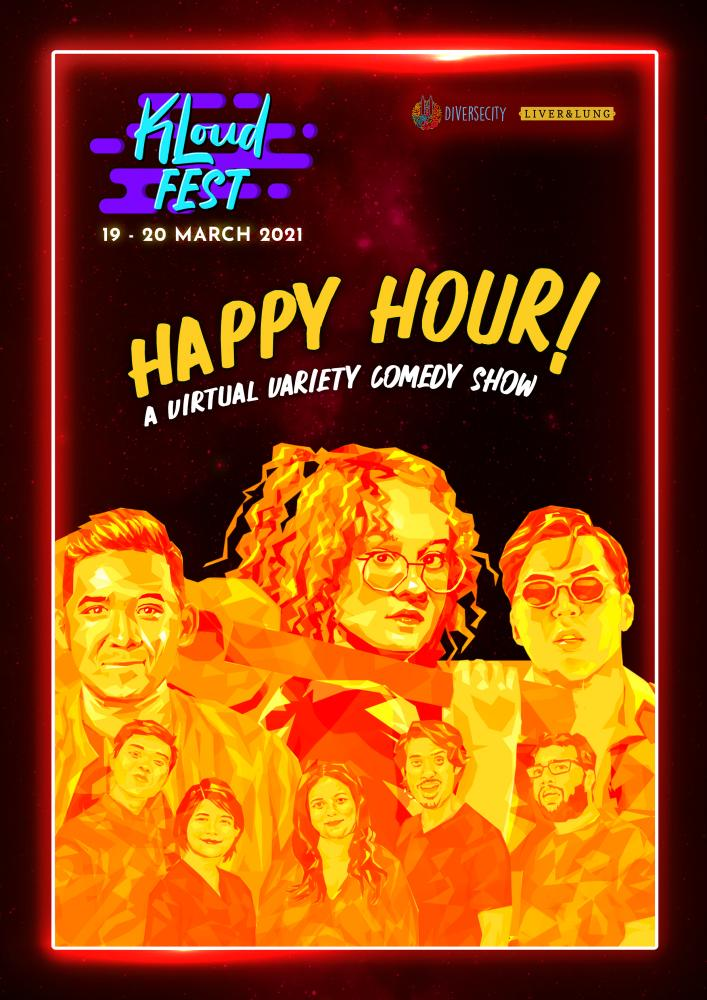 Malaysia's first virtual comedy variety show 'Happy Hour' available to stream this March
