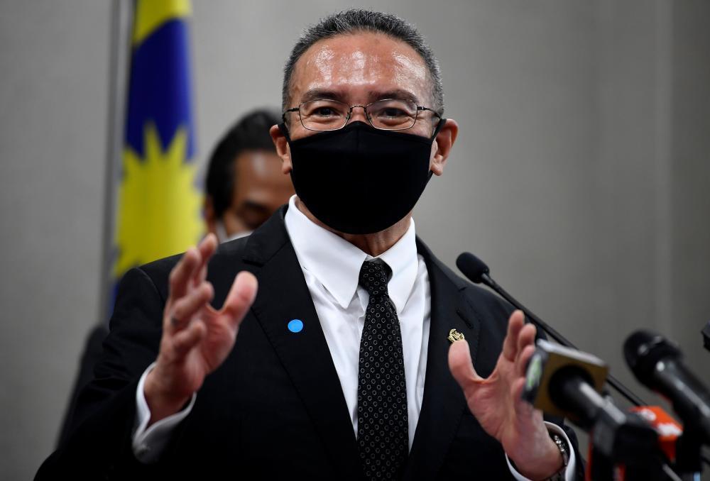 Senior Minister (Defence) Datuk Seri Hishammuddin Hussein. BERNAMApix