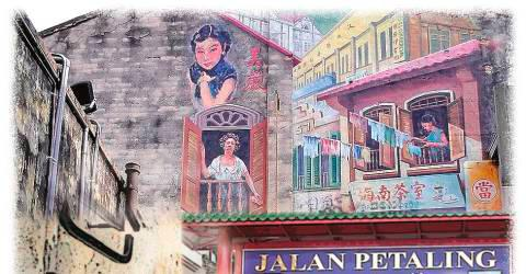Petaling Street bazaar makeover