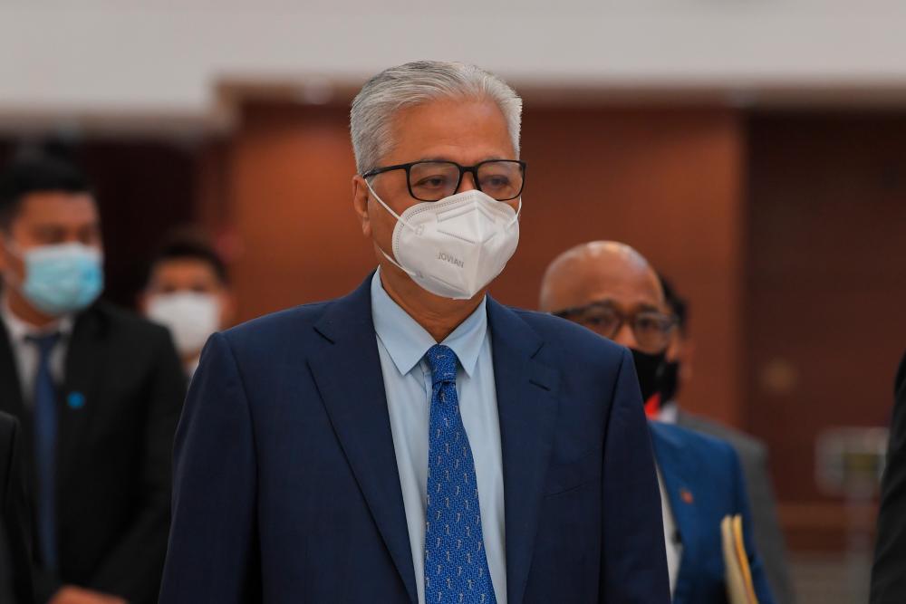 Perdana Menteri Datuk Seri Ismail Sabri Yaakob. BERNAMApix