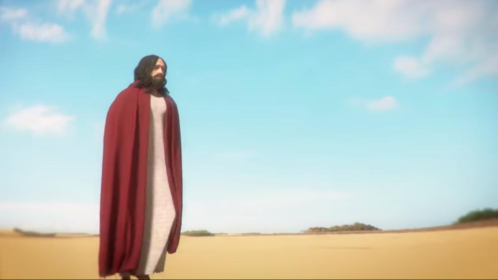 A screen grab of the I Am Jesus Christ game trailer courtesy of ThePlayWay Youtube.