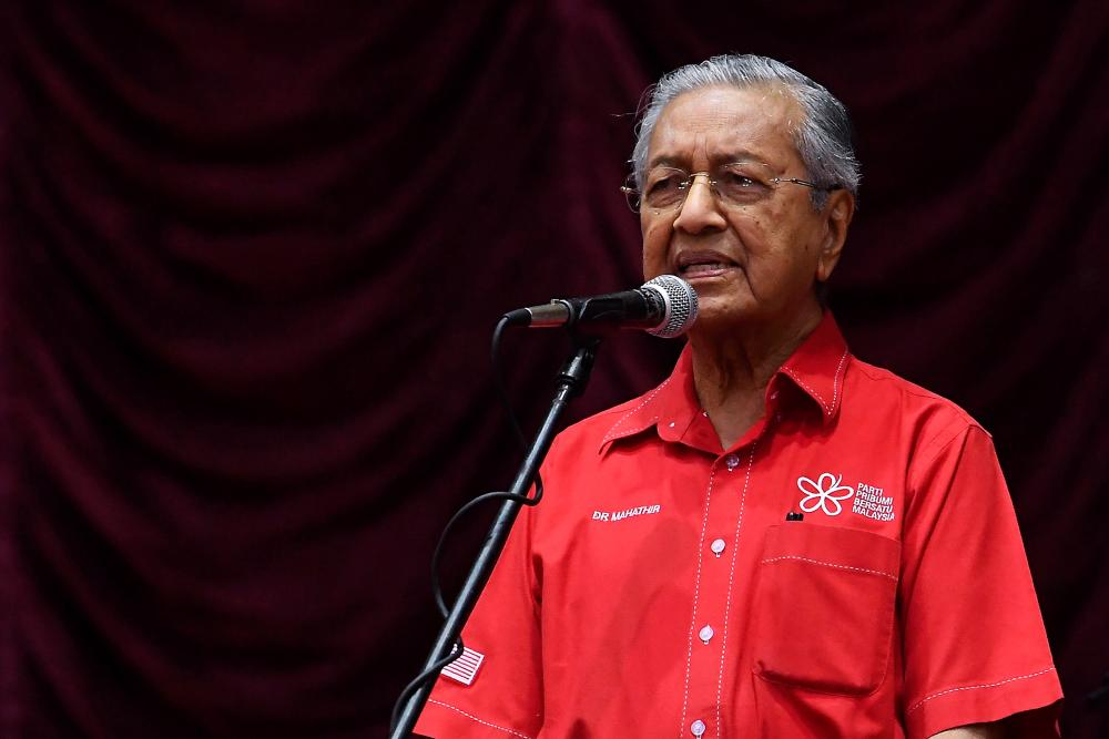 Mahathir quashes claims PH was dominated by DAP