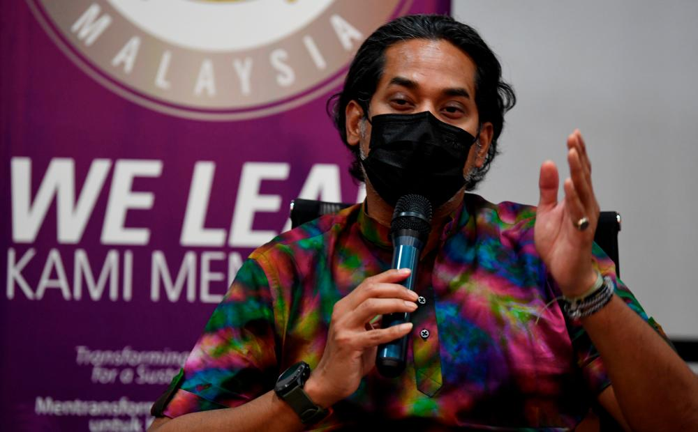 National Covid-19 Immunisation Programme Coordinating Minister Khairy Jamaluddin. — Bernama