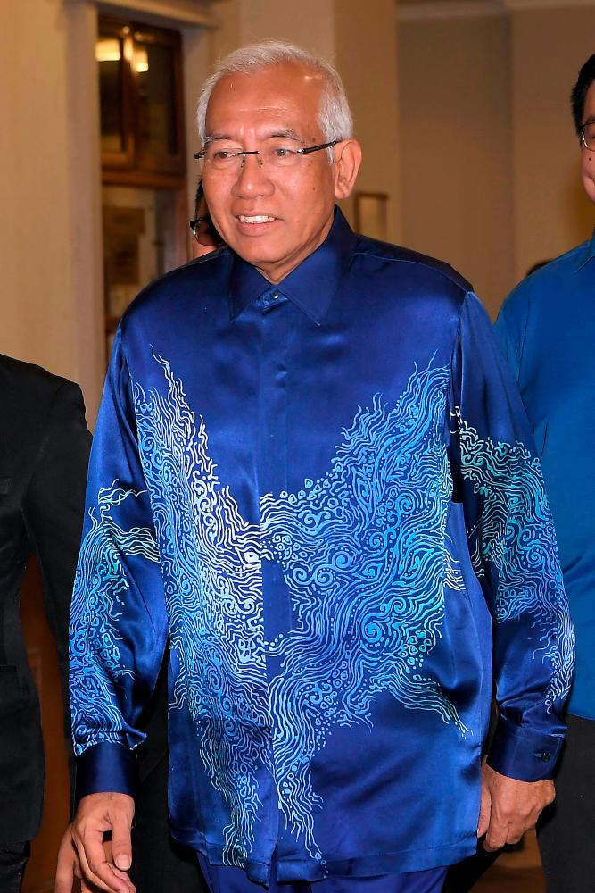 Former Education Minister Datuk Seri Mahdzir Khalid appears at the Kuala Lumpur High Court as a witness in the corruption trial of Datin Seri Rosmah Mansor. - Bernama