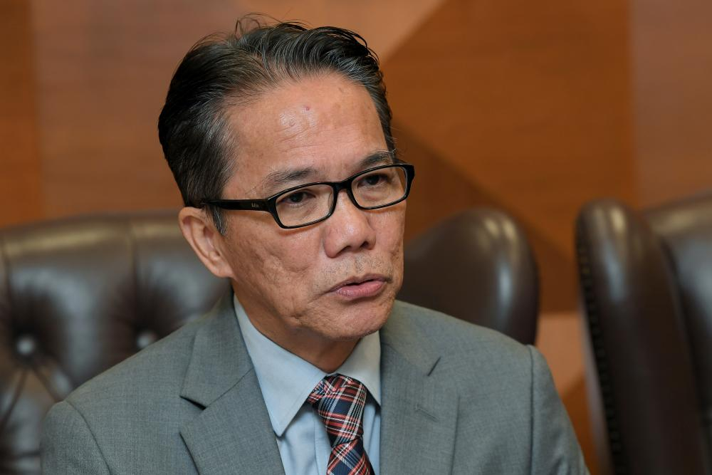 Minister in the Prime Minister's Department Datuk Liew Vui Keong.