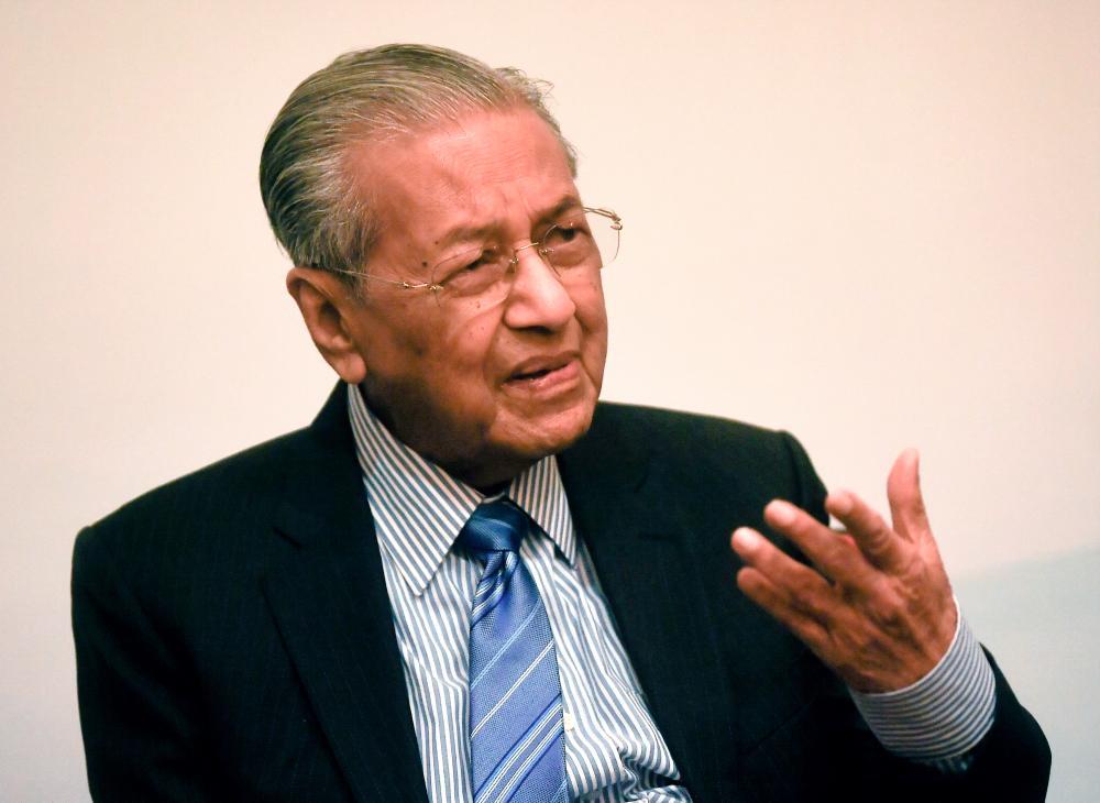 PPSMI aimed at mastering scientific fields: Mahathir