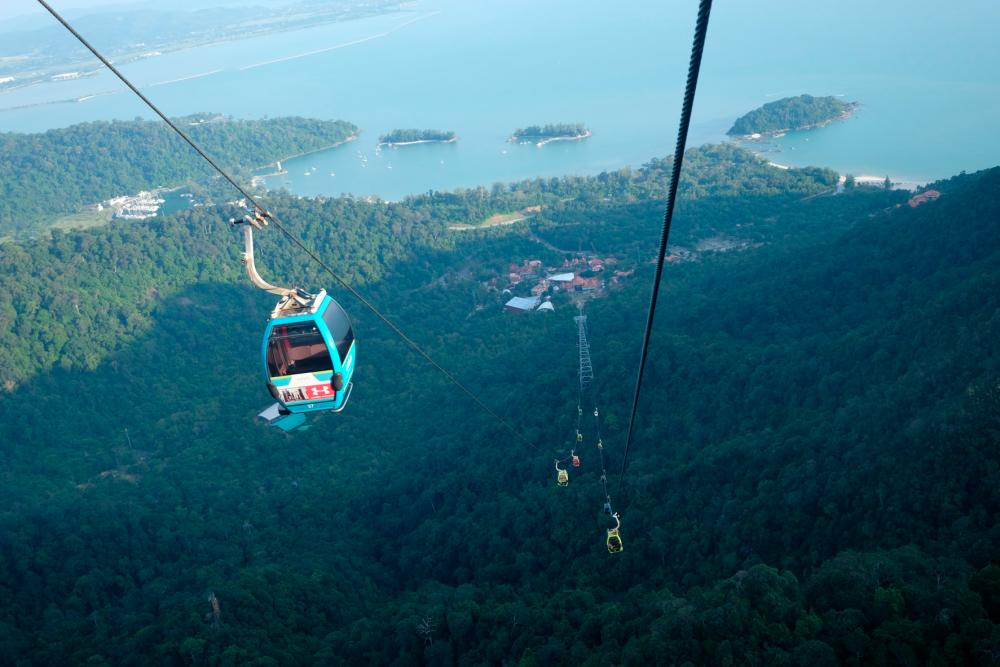 One of the most visited tourist attraction in Langkawi.-BERNAMAPix