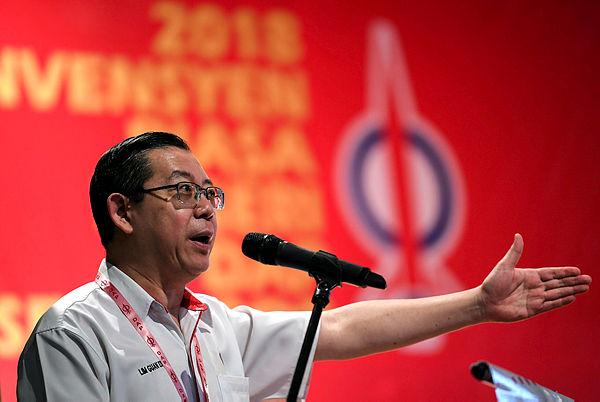 Finance Minister Lim Guan Eng. — Bernama