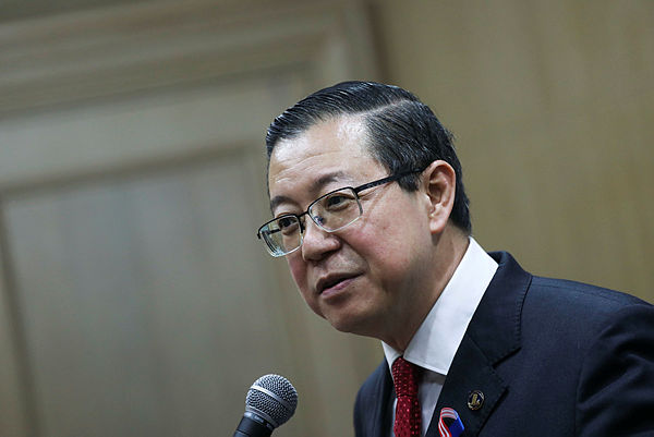 Cashless system can reduce corruption: Guan Eng