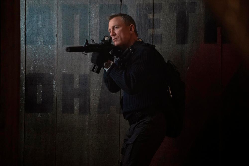 Craig in No Time to Die. – MGM Studios
