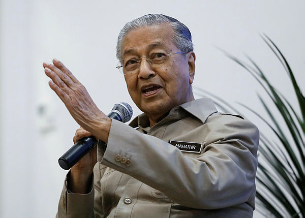 Dr M not disappointed with IPC's decision