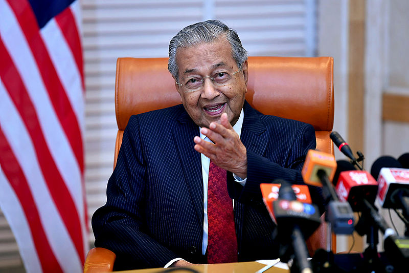 Mahathir questions if Islamic gathering was for religion or politics