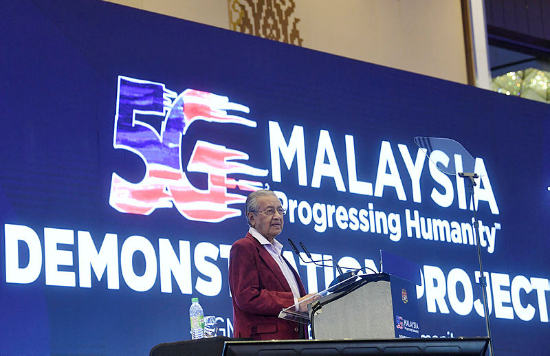 Malaysia on track to commercially roll out 5G in Q3 2020: Mahathir