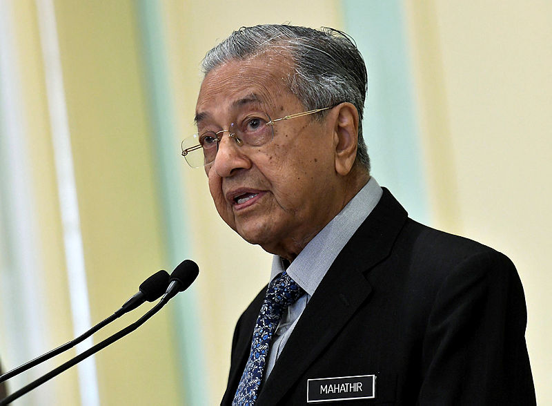 'Deal of The Century' utterly unacceptable, grossly unjust: Mahathir