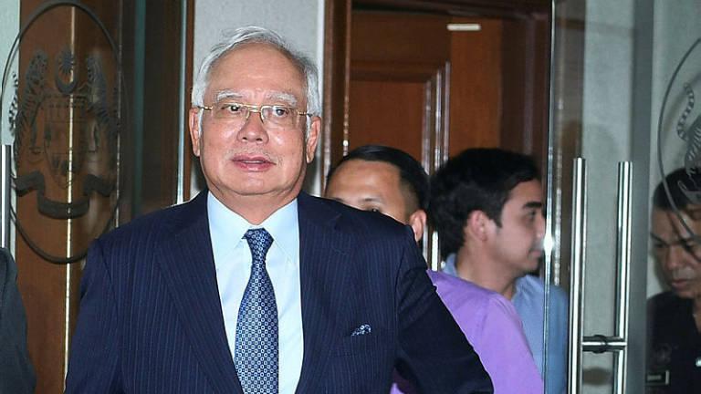 Najib's SRC trial postponed as counsel calls in sick