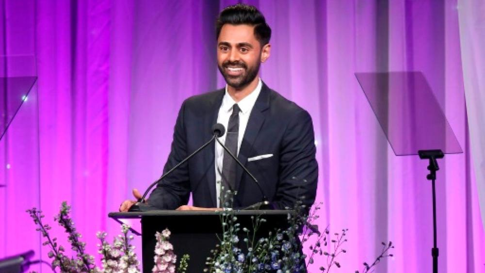 Hasan Minhaj, seen here at a California charity event in November 2018. — AFP