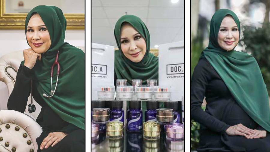 Nur Aireen showing some of her 'Doc.A' products. – Sunpix by Adib Rawi