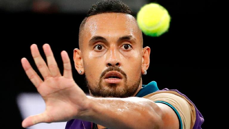 Kyrgios raises the roof with epic comeback in Melbourne