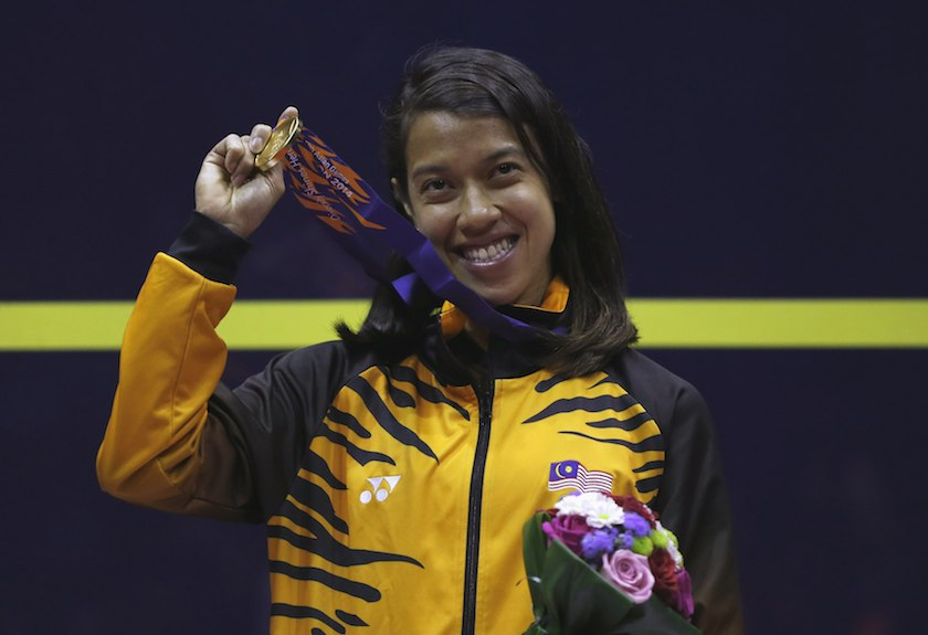 Nicol David named Greatest Athlete of All Time in The World