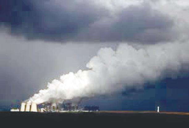 Smoke rising from a coal-fired power plant in Germany. The EU CBAM may well set the tone for other climate regimes that are expected to be implemented around the world. – REUTERSPIX
