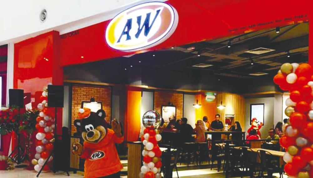 As at Aug 31, there are 62 A&W outlets throughout Malaysia. – A&W Facebook page/IOI Mall website