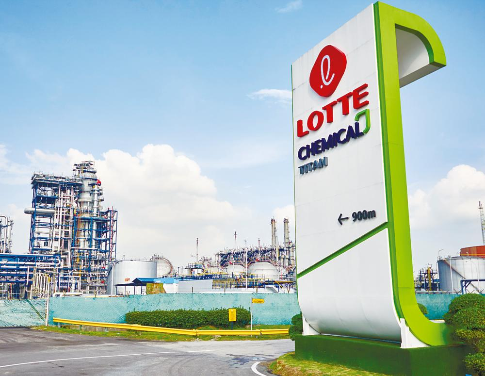 Lotte's profit hit by lower selling prices