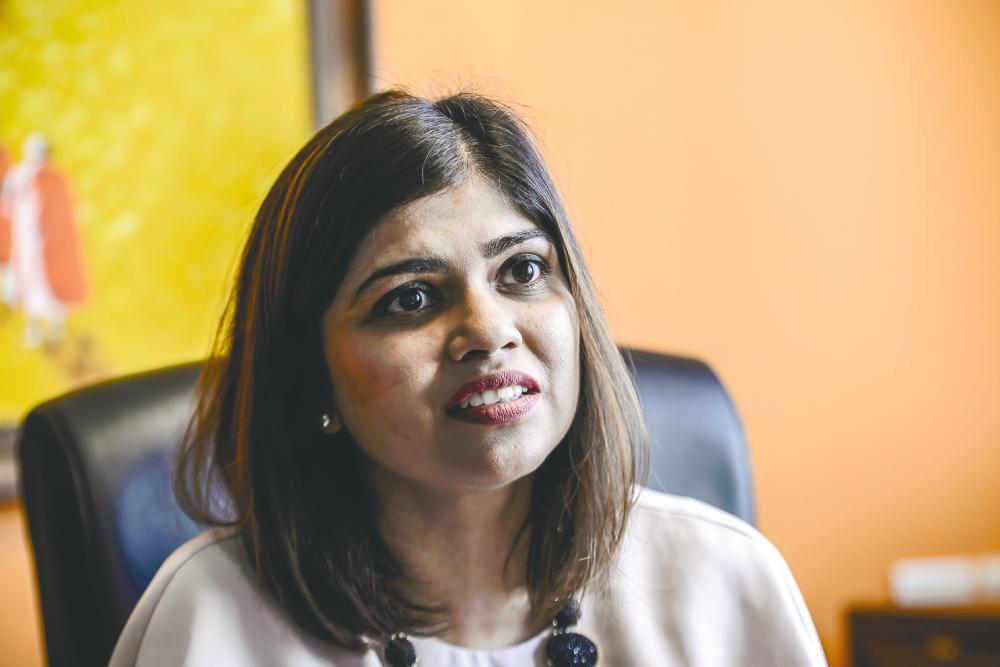 Hetal regards US tech giant Microsoft as a great example in paving the way for future leaders. – ADIB RAWI/THESUN
