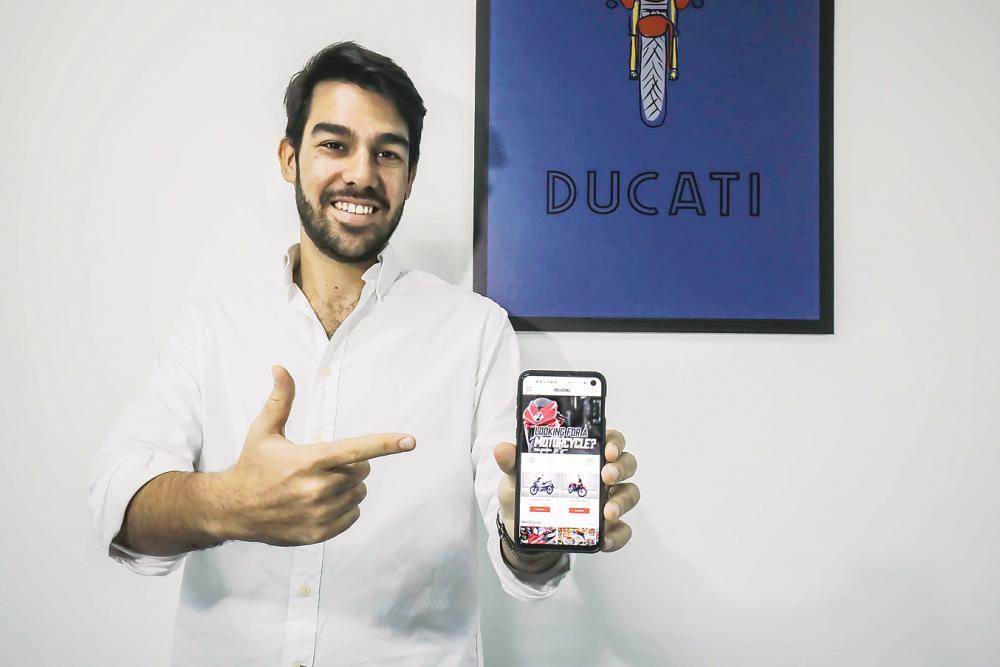 Carmo: iMotorbike monetises by getting involved in campaigns with bike and bike-related companies. – ADIB RAWI YAHYA/THESUN