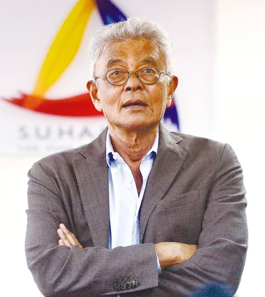 Razali's stellar performance in Suhakam is notable as he brought new fervour, feistiness and fame to the human rights cause. – Amirul Syafiq Mohd Din/THESUN