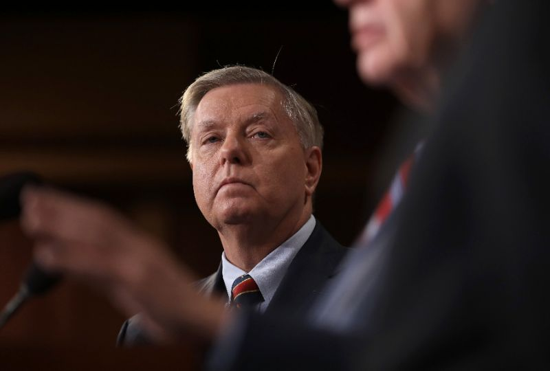 US Senator Lindsey Graham said he would urge President Donald Trump to 'reconsider' his planned Syria pullout