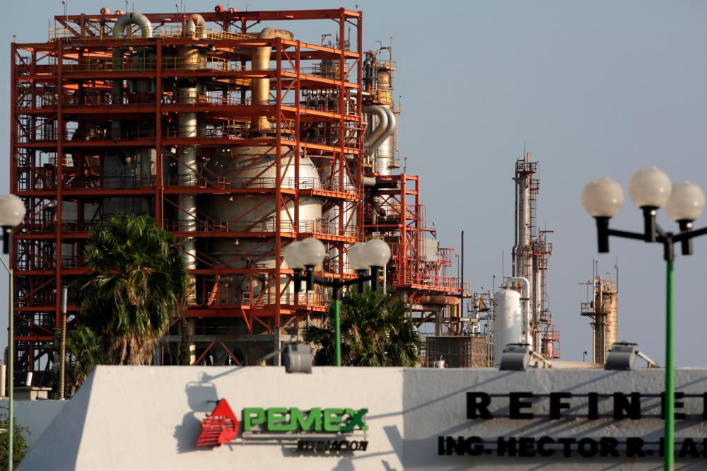 General view of state oil firm Pemex's refinery in Cadereyta on the outskirts of Monterrey, Mexico. – REUTERSPIX