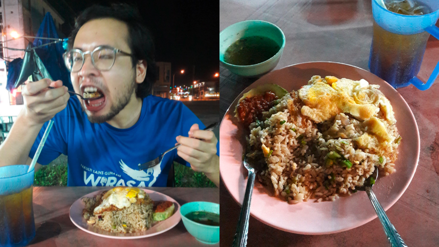 Perlis man's biggest flex is showing he's allowed to dine out in 2021