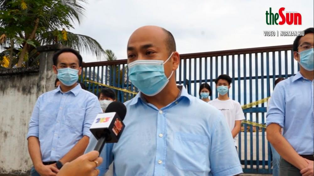 'My dad's firm did not pollute river'