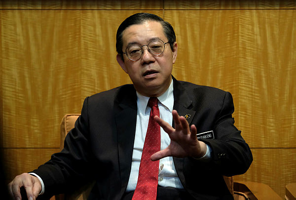 Finance Minister Lim Guan Eng at the closing ceremony of the Putrajaya Financial Literacy Festival 2019, today. — Bernama