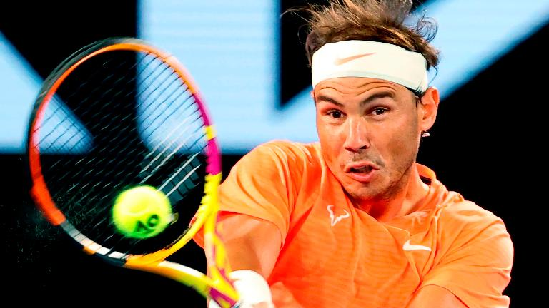 Nadal comes through tough workout to keep Slam dream alive